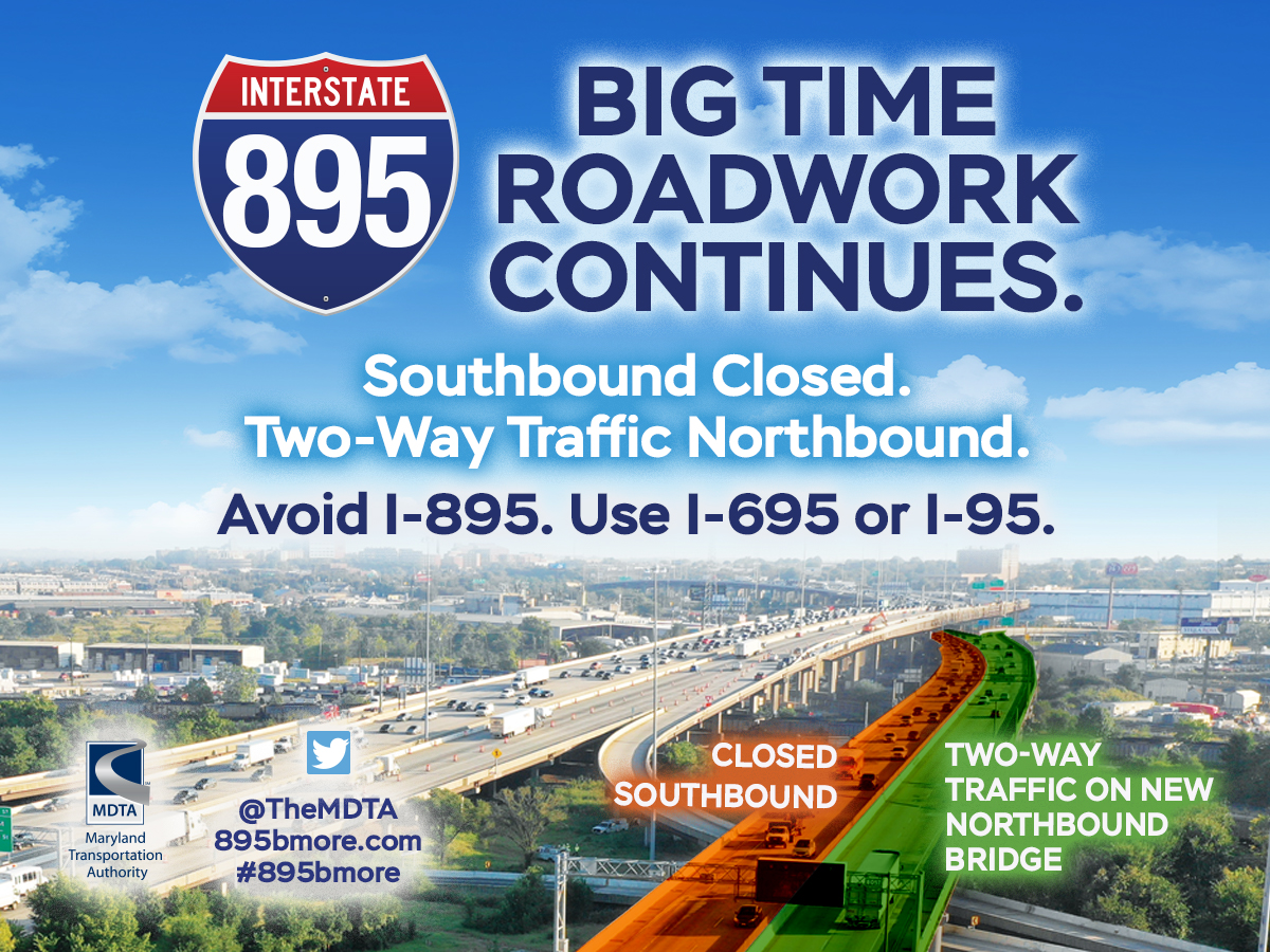 I-895 Bridge Project - Follow link to learn more.
