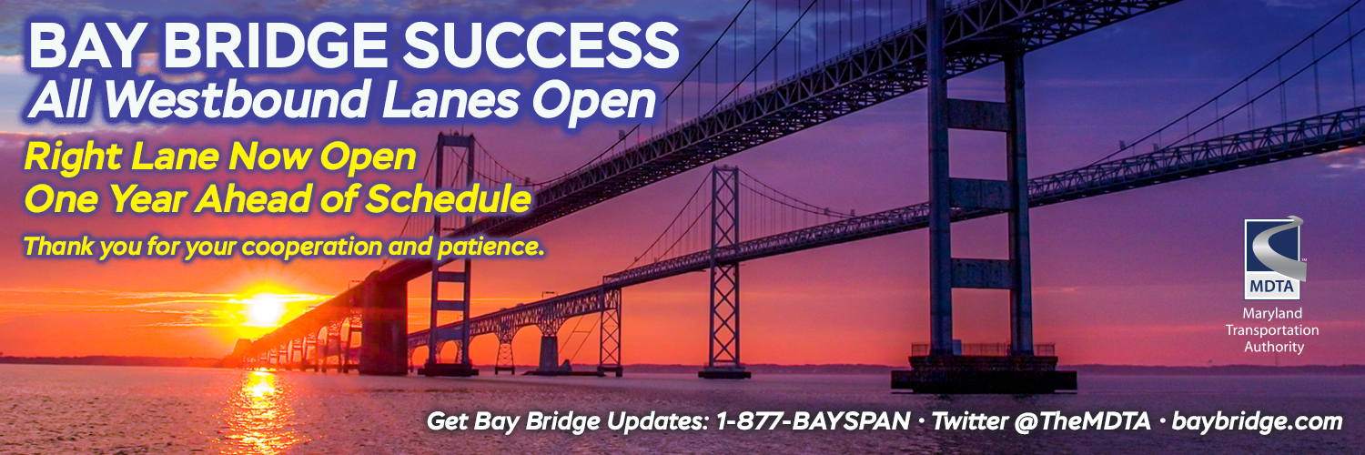 Bay Bridge Success - All Westbound Lanes Open
