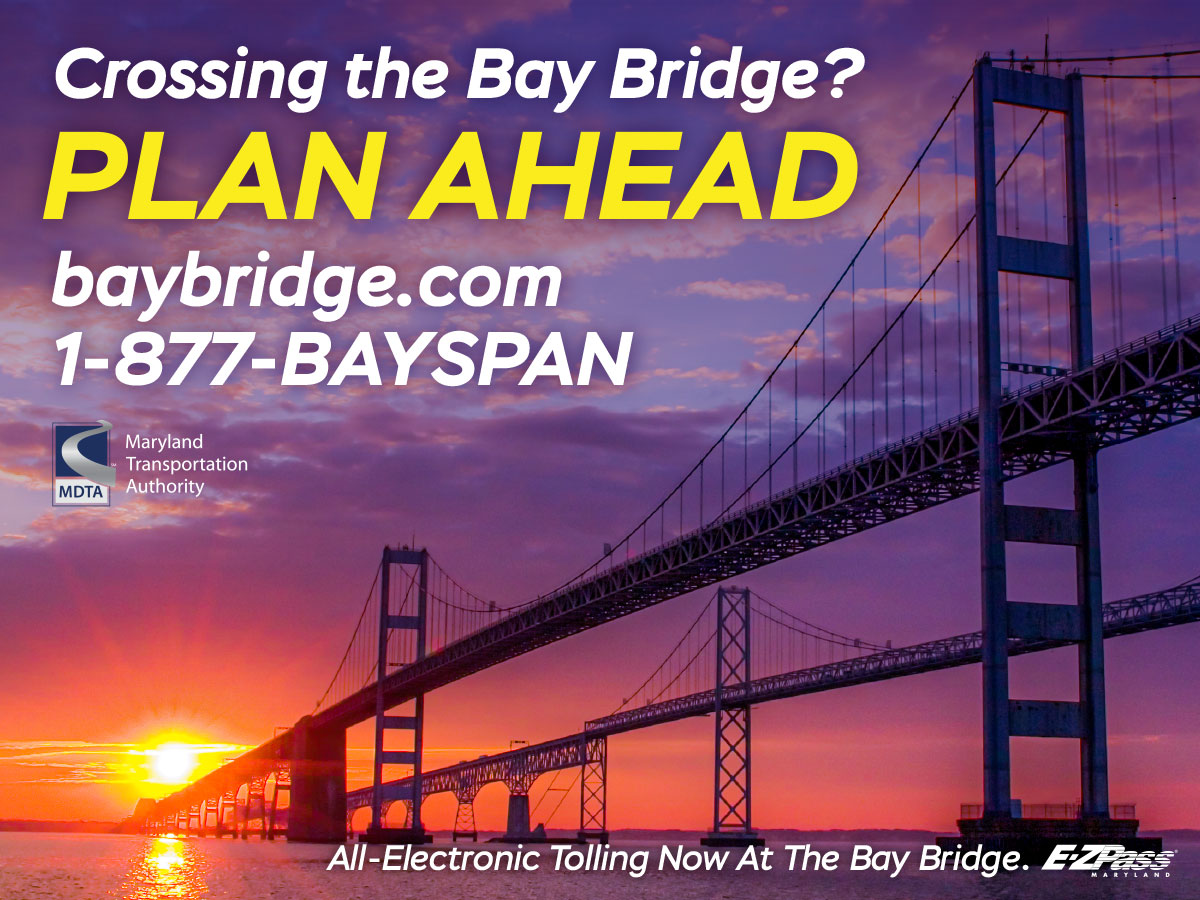 Crossing the Bay Bridge Plan Ahead.